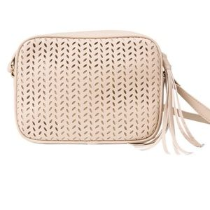 Summer & Rose Cream Crossbody Bag Fab Fit Fun